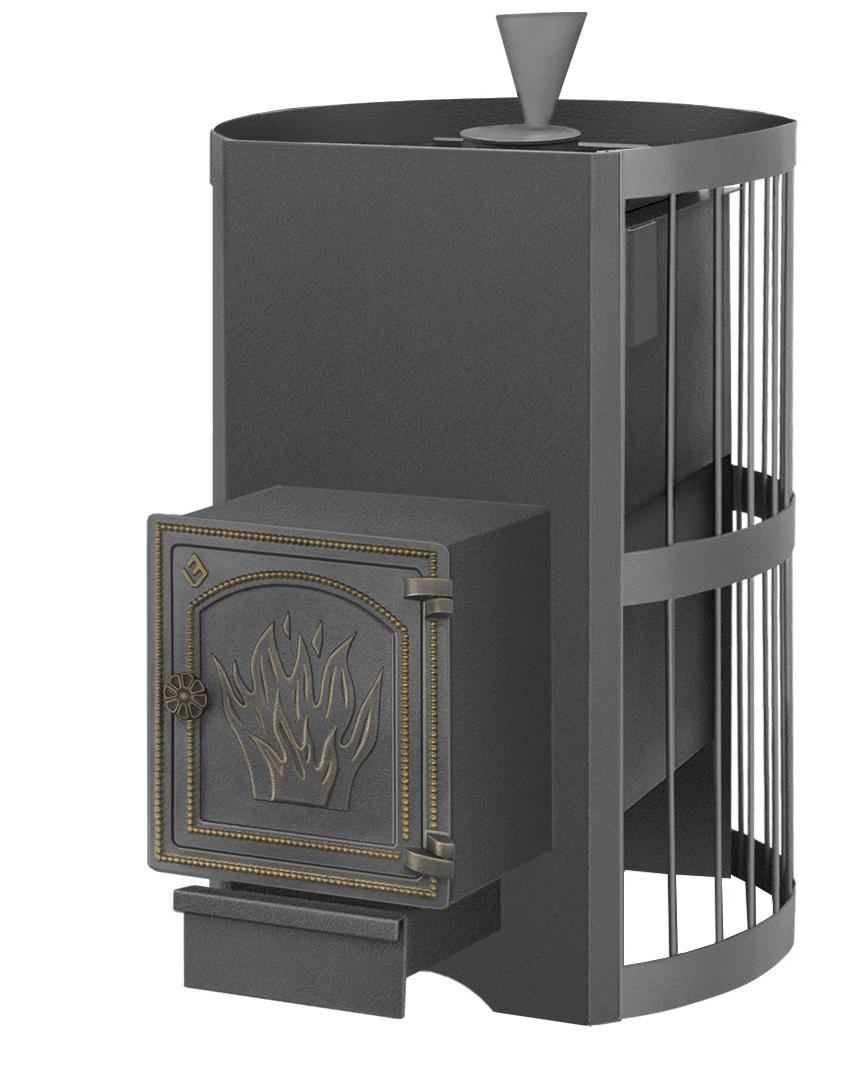 Печь Везувий Скиф Стандарт 22  (ДТ-4) с парогенератором